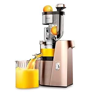 Ozigwpa3 Juicer- Exprimidor Comercial casero automático de Frutas y Verduras Multifuncional separación de escoria Pulpa Jugo Fresco freír la máquina: ...