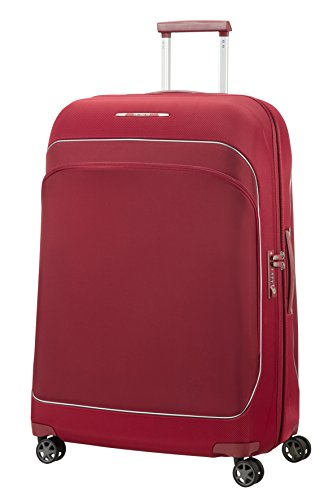 SAMSONITE Fuze - Spinner 76/28 Expandable Hand Luggage, 76 cm, 95,5 liters, Red (Cabernet Red)