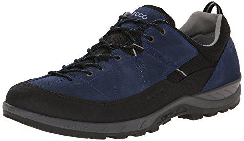 ECCO Yura Mens, Scarpe Sportive Outdoor Uomo Blu (Black/True Navy)