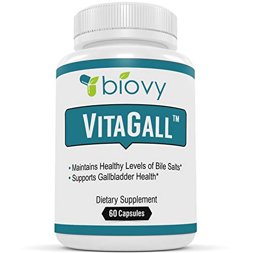 Liver And Gall Bladder - VitaGallTM The Best Gallbladder Health Supplement by Biovy - Natural Gallbladder Cleanse with Chanca Piedra and Artichoke Extract - Gallbladder Formula for Healthy Digestive System, Gallbladder & Liver