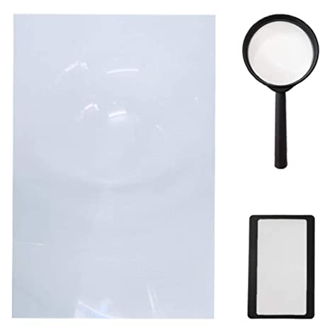 Amazon.com: Luz LED de clip con lupa con lente dual PD-5S ...