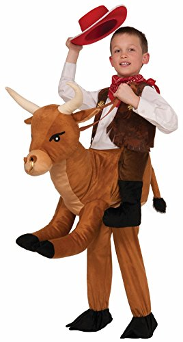 Kids Bull Costumes (Forum Novelties Ride-A-Bull Costume, One Size)