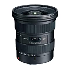 Based on widely popular AT-X 116 PRO DX II model atx-i 11-16mm F2.8 CF is designed and optimized for contemporary APS-C sensor DSLR cameras in terms of improved specifications and renovated design with still photographers and video content cr...