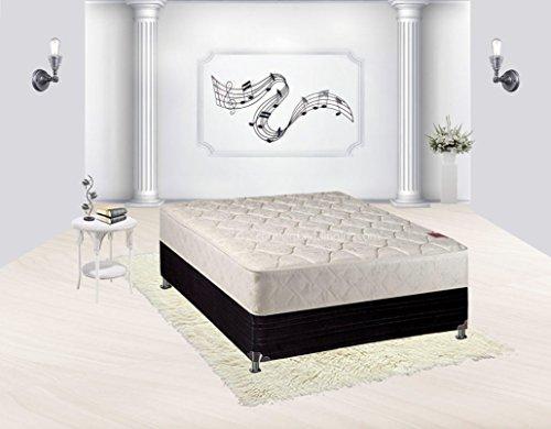 Continental Sleep Mattress, Twin Size Fully Assembled Orthopedic Mattress, Sensation Collection ()