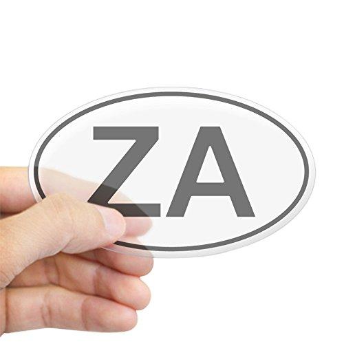 CafePress Za - South Africa Oval Car Sticker Oval Bumper Sticker, Euro Oval Car Decal - Africa Bumper