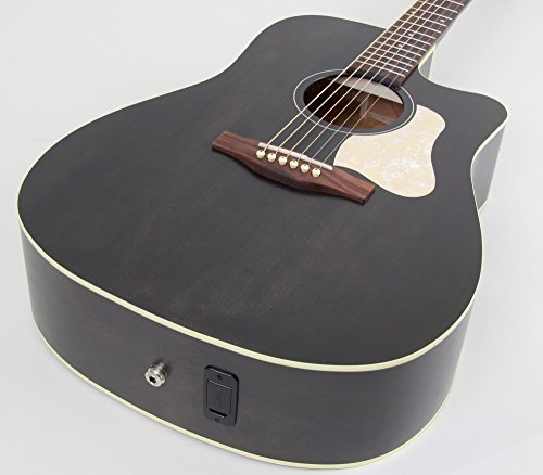 Art Wood Series Acoustic Guitar - Art & Lutherie Americana Series CW QIT Acoustic-Electric Guitar Faded Black