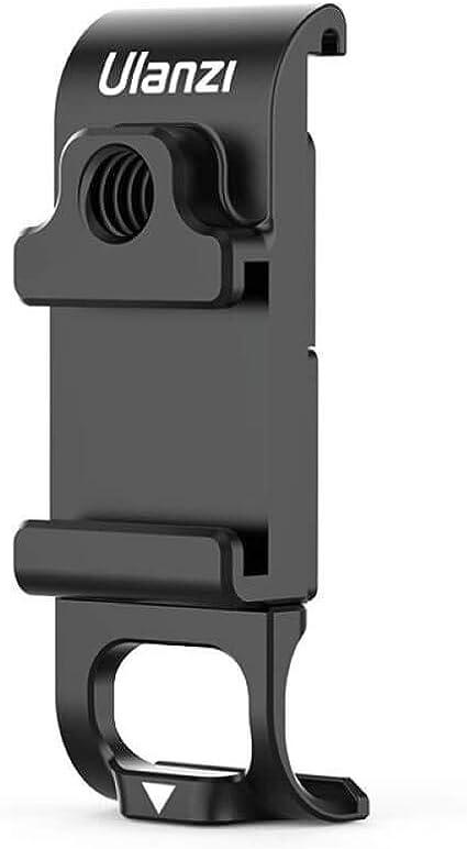 Ulanzi G9 6 Batteriefachdeckel Mit Cold Shoe Mount Abnehmbarer Ladeanschluss Adapter Aluminium Für Gopro Hero Schwarz 9 Sport Freizeit