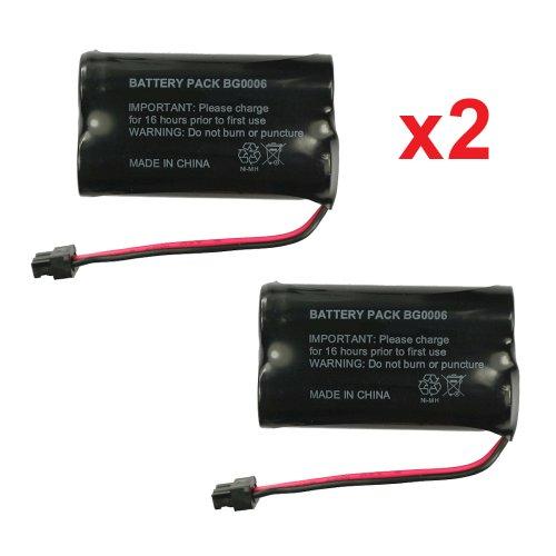 2 fenzer rechargeable cordless phone batteries for uniden bt 1015 bt1015 cordless telephone. Black Bedroom Furniture Sets. Home Design Ideas