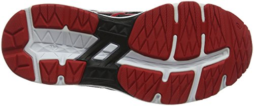Asics Gt-1000 6 GS, Zapatillas de Running Unisex Niños Gris (Stone Grey/classic Red/black 1123)