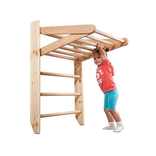 "Swedish Ladder Wall Bars ""Kinder 3 220"", Children home gym, Gymnastic sport complex. 87""x31.5"