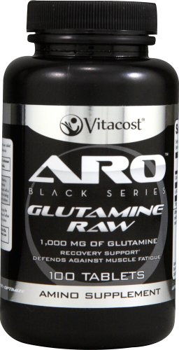 ARO-Vitacost Black Series Glutamine RAW — 1000 mg – 100 Tablets Review