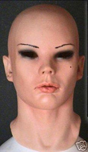 TOP Sexy Female Foam Latex Mask Rubber Fetish Diva (Foam Latex Mask)