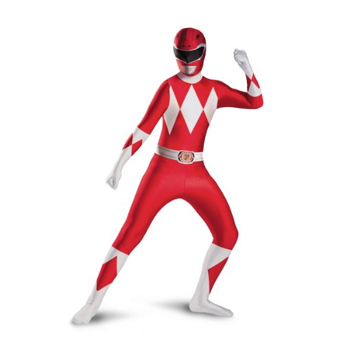 Disguise childs Red Ranger Bodysuit Costume, Red, -