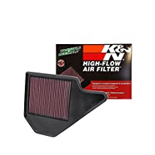 K&N 33-2462 High Performance Replacement Air Filter