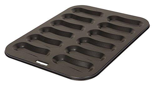 Dexam Non-Stick 12 Hole Eclair Pan Tray Tin by Dexam