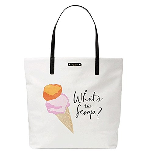 Kate Spade Ice Cream What's the Scoop Tote Bag Flavor of ...