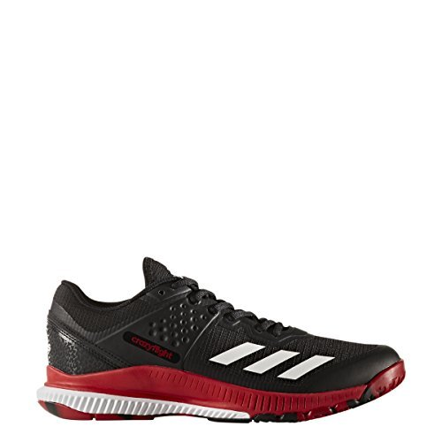 adidas Performance Women's Crazyflight Bounce W Volleyball Shoe, Black/White/Power Red, 10.5 Medium US by adidas (Image #4)
