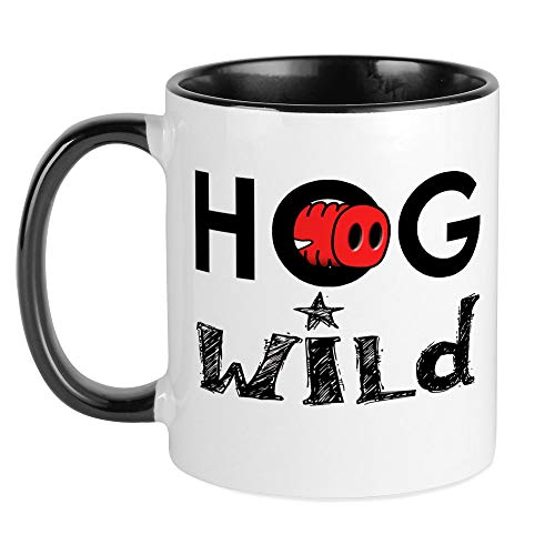 CafePress HOG WILD Razorback Nose Mug Unique Coffee Mug, Coffee Cup ()