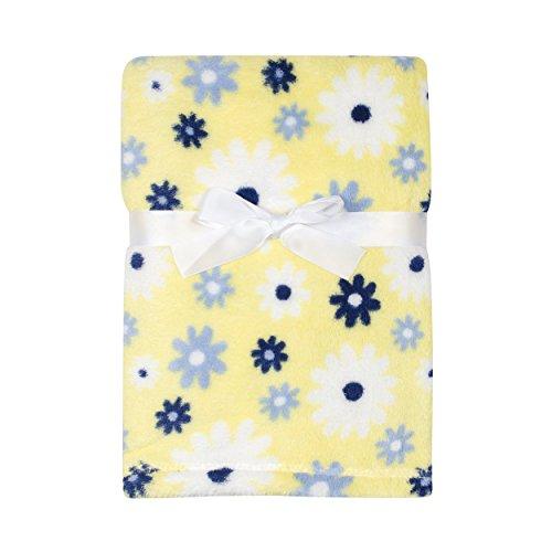 Baby Gear Plush Velboa Ultra Soft Baby Girls Blanket 30 x 40, Daisy's - Daisy Duck Baby Shower