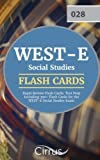 WEST-E Social Studies Rapid Review Flash Cards: Test Prep Including 350+ Flash Cards for the WEST-E Social Studies Exam