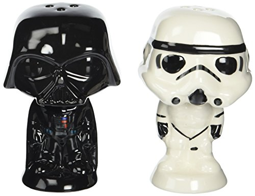 (Funko POP Home: Star Wars - Vader and Stormtrooper Salt N' Pepper Shakers)