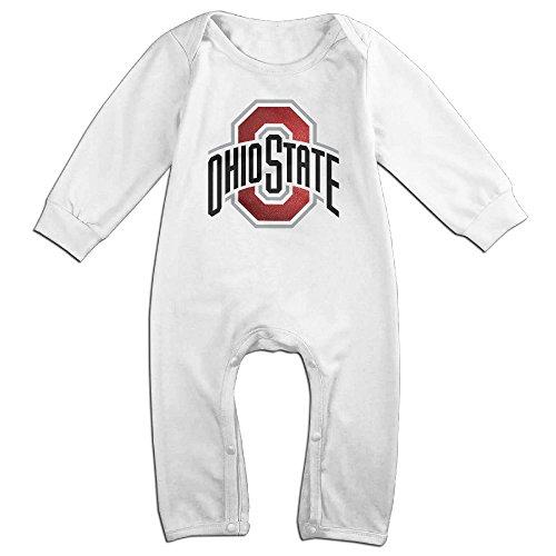 [HOHOE Boy's & Girl's Ohio State University Columbus Long Sleeve Jumpsuit Outfits 12 Months] (Columbus Ohio Halloween)