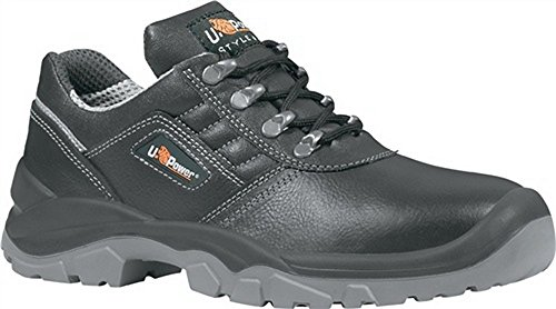 Couro 20345 S2 De Iso Preto 43 Protecção Gr Sapatos En Src Língua pqUwva6a