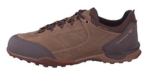 Allrounder Hombres Talido Tex Calzado Deportivo Espresso Rubber / Taupe Ori