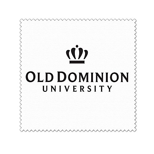 ODU Old Dominion University Microfiber Cleaning Cloth For Cleaning Glasses,Camera Lenses,Phones,Tablets,Flat Screen TVs,iPad,iPhone