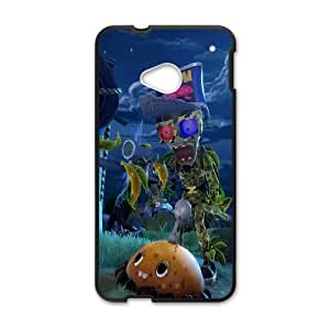 DIY Printed Plants V.S. Zombies hard plastic case skin cover For HTC One M7 SN9V792292