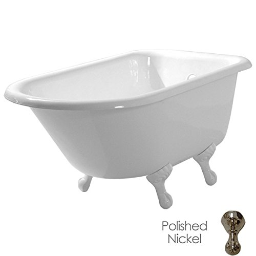 Find Discount Randolph Morris 48 Inch Cast Iron Classic Clawfoot Tub - No Drillings - Ball and Claw ...