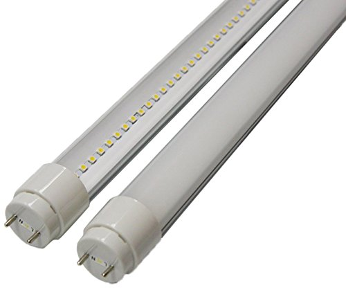 Goodlite G-20414  22-watt 4-Feet T8 T10 or T12 LED Tube 32W 40W Fluorescent Bulb Replacement, UL and DLC Approved Single End Power Frosted