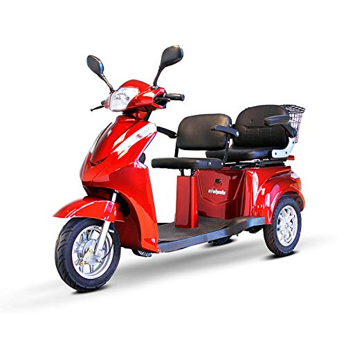 EWheels EW-66 2-Passenger Heavy-Duty Scooter (2 Person Electric Scooter)