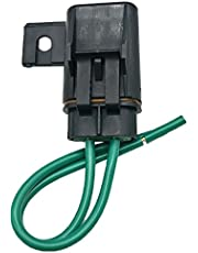 Car Truck Marine Boat 30A/40A Medium Blade Fuse & Inline Fuse Holder with Copper Wire - 40A