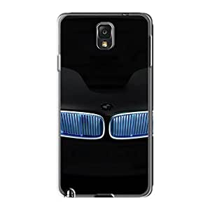 Excellent Hard Cell-phone Case For Samsung Galaxy Note 3 With Allow Personal Design Colorful Neon Grill Bmw Image LauraAdamicska