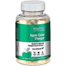 Organic Apple Cider Vinegar Capsules -1500mg Diet Pills, Fast Weight Loss, Detox & Cleanse - Appetite Suppressant & Metabolism Booster + Beta Carotene, #1 ACV Supplements & Fat Burners For Men & Women