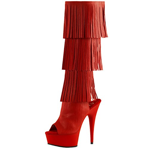 Pleaser - Sexier Than Ever Plateau Sling Peeptoe Stiefel DELIGHT-2019-3