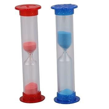 2 Contador Temporizador Reloj de Arena Tiempo Dental Cepillo de Dientes Niño: Amazon.es: Juguetes y juegos