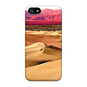 High-quality Durability Case For Iphone 5/5s(pink Mountain Desert)