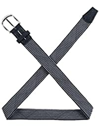 TravisMathew Men's Swerve Black/Dark Grey Belt