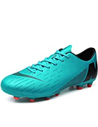 Lovers Soccer Shoes/Soccer Cleats/Football Boots Football/Soccer Anti-Slip, Low-Top Women's Sneakers,Men's Non-Slip Long Spike Shoes Training Shoes,Competition (Color : A, Size : 39)