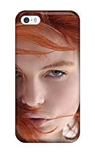 Fashion Tpu Case For Iphone 5/5s- Women Redheads Defender Case Cover