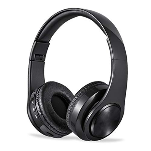 Liutao-Headphones Bluetoothヘッドセット サブウーファー コンピュータフォン ユニバーサルカード スポーツ ワイヤレス ゲーム用ヘッドセット ブラック 201803  ブラック B07RKVB7HQ