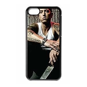 Rapper Eminem iPhone 5c Cell Phone Case Black Delicate gift JIS_252379