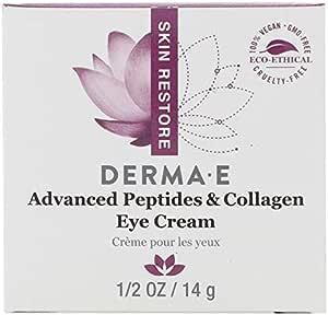 Derma E, Advanced Peptides & Collagen Eye Cream, 1/2 oz (14 g)