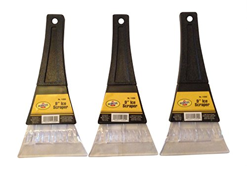 Pennzoil Automotive 9 Inch Bear Claw Ice Scraper in Black (Set of 3) No 14300