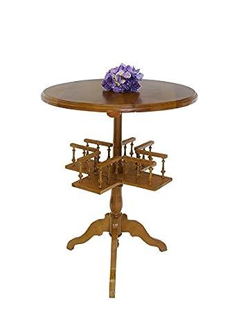 Runder Beistelltisch Tisch Telefontisch Antik Stil D 60 Cm
