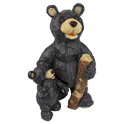 Design Toscano Black Forest Bear Pair Sculpture