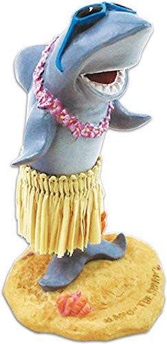KC Hawaii Mini Posing Hula Girl Dashboard Doll 4 Inches