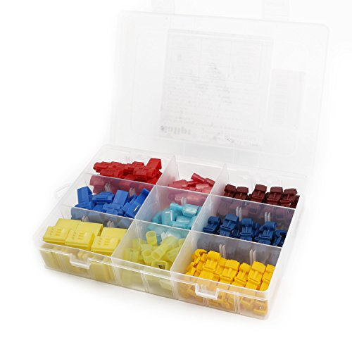 Salipt Quick Splice Solderless Terminals and T-Tap Electrical Connector Assortment Kit 120pcs with Case by Salipt (Image #7)